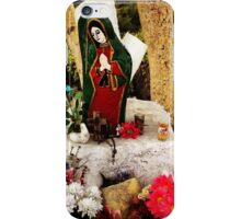 Shrine in Mexico iPhone Case/Skin