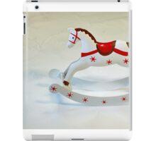 rocking horse iPad Case/Skin