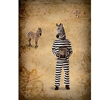 The man who fled to Africa Photographic Print