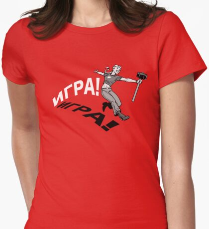 PLAY! Womens Fitted T-Shirt