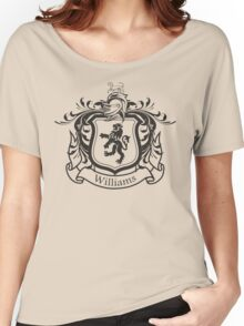 Williams Family Crest (Dark) Women's Relaxed Fit T-Shirt