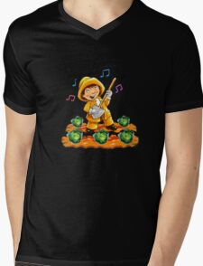 Singing in the Rain Mens V-Neck T-Shirt