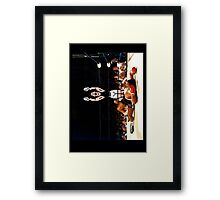 Super Punch Out Framed Print