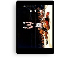 Super Punch Out Canvas Print