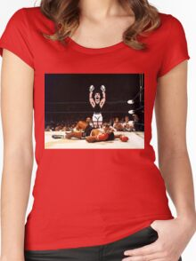 Super Punch Out Women's Fitted Scoop T-Shirt