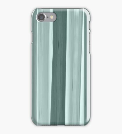 Abstract design in green iPhone Case/Skin