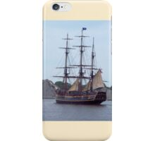 Bounty II - Arriving on the Saginaw iPhone Case/Skin