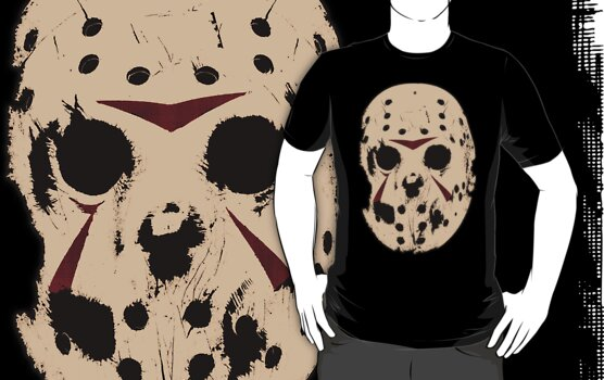 Friday the 13th (Jason Mask) by LamericaTees