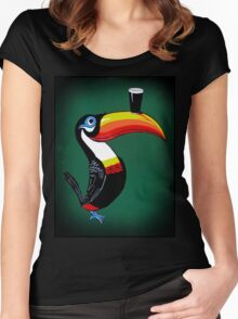toucan Women's Fitted Scoop T-Shirt