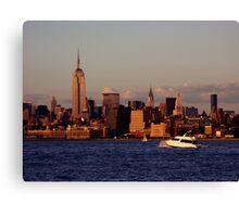 Manhattan, New York City Canvas Print