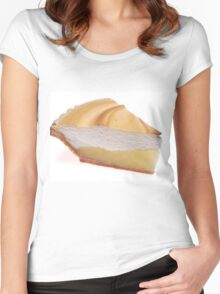 Lemon Meringue Pie Women's Fitted Scoop T-Shirt