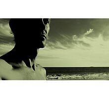Horizon Surfing Photographic Print