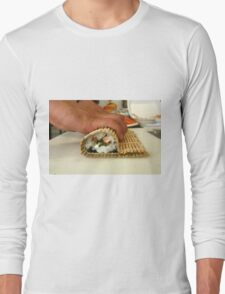 Making Sushi Long Sleeve T-Shirt