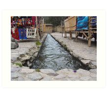 Incan Irrigation Art Print