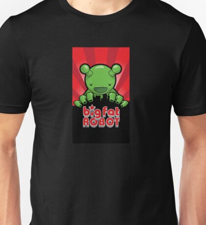 Big Fat Robot eats Melbourne - red with logo Unisex T-Shirt