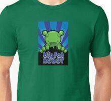Big Fat Robot eats Melbourne - blue with logo Unisex T-Shirt