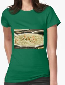 Mashed Potatoes Womens Fitted T-Shirt