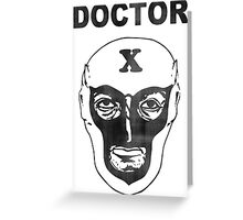 Doctor X (Debbie Harry) Greeting Card