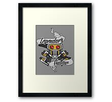 Legendary Outlaw Framed Print