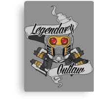 Legendary Outlaw Canvas Print