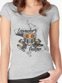 Legendary Outlaw Women's Fitted Scoop T-Shirt