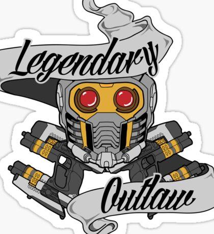 Legendary Outlaw Sticker