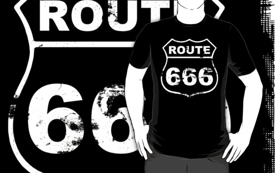 Route 666 (Inspired By Natural Born Killers)  by LamericaTees