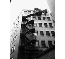 Fire Escape Photographic Print