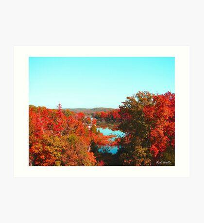 Cherokee Lake Art Print
