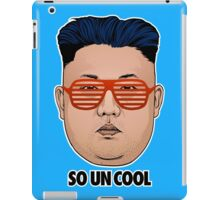So Kim Jong Un Cool iPad Case/Skin
