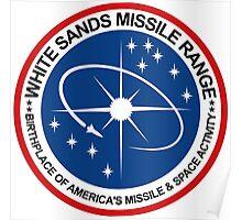 White Sands Missile Range Emblem Poster