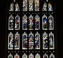 Tewkesbury Abbey: A Stained Glass Window by Martin Carr