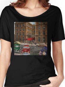 City - NY - Leo Ritter School of Nursing 1947 Women's Relaxed Fit T-Shirt