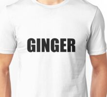 Ginger - Glee 'Born this Way' Unisex T-Shirt
