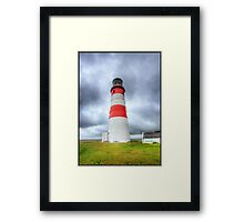 Orford Ness Panoraic HDR Framed Print
