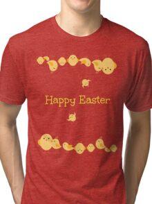 Crazy Easter Chicks Tri-blend T-Shirt