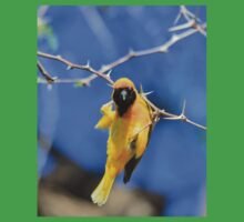 Golden Weaver - Hanging on for LIfe Kids Clothes