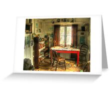 Writing Shed Greeting Card