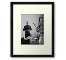 Master Class Framed Print