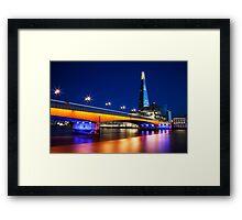 London Bridge & The Shard Framed Print