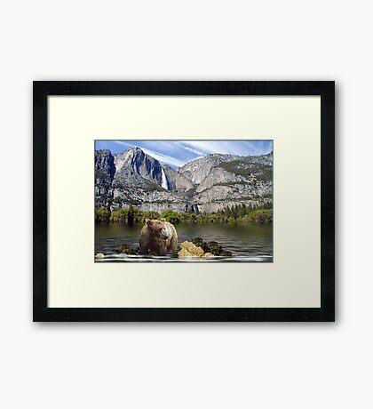 859-Natural Environment Framed Print