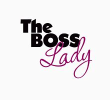 The Boss Lady Womens Fitted T-Shirt