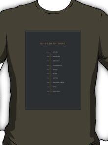 Football Cliche Guide to Finishing T-Shirt
