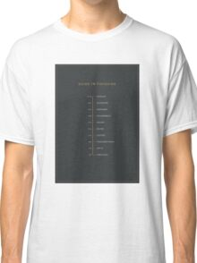 Football Cliche Guide to Finishing Classic T-Shirt