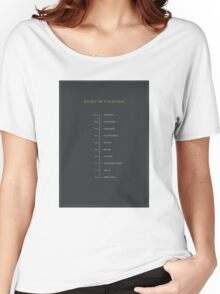 Football Cliche Guide to Finishing Women's Relaxed Fit T-Shirt