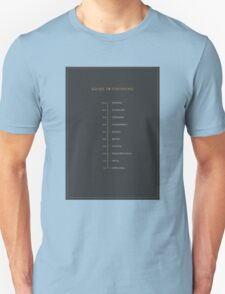 Football Cliche Guide to Finishing Unisex T-Shirt