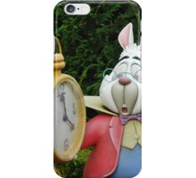 White Rabbit  iPhone Case/Skin