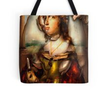 Ghost Portrait Nr. 1 - Woman with Unicorn Tote Bag