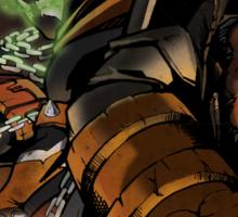 Spawn and Hellboy Sticker