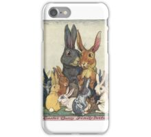 Easter Bunny Family Portrait iPhone Case/Skin